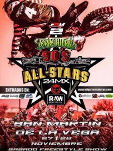 EL 90´S ALL STARS DE EDGAR TORRONTERAS SE CELEBRARÁ LOS DÍAS 27 Y 28 DE NOVIEMBRE