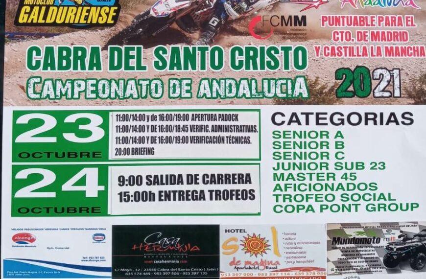 LLEGA EL ENDURO CABRA DE SANTO CRISTO